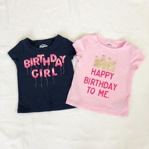 Birthday Girl T Shirts OshKosh Old Navy